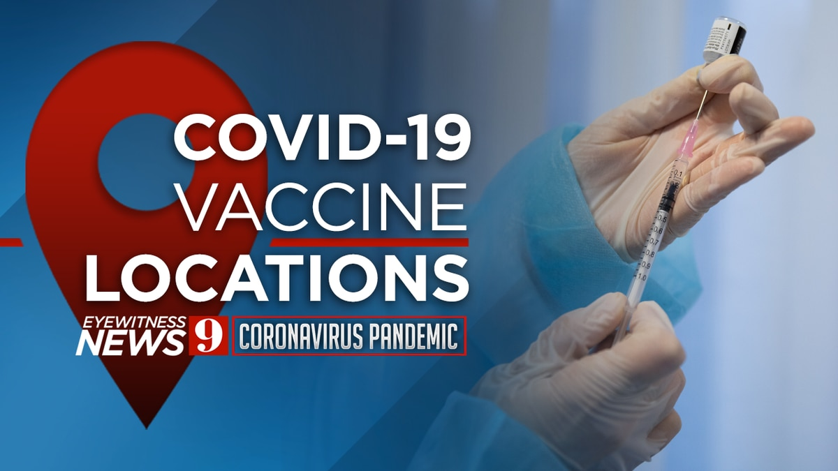 MAP: COVID-19 vaccine locations in Central Florida
