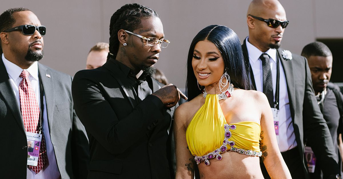 Cardi B Gifts Offset With Fridge Filled With Cold Hard Cash For