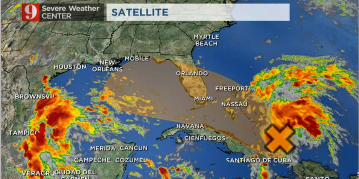 Pleasant evening; watching for possible tropical development