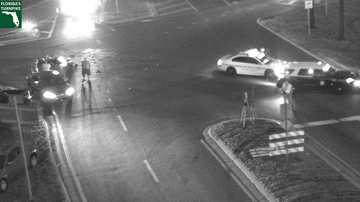 FHP: Motorcyclist killed after colliding with car in Orange County