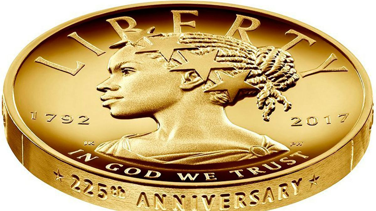 US Mint reveals first woman of color on Lady Liberty coin