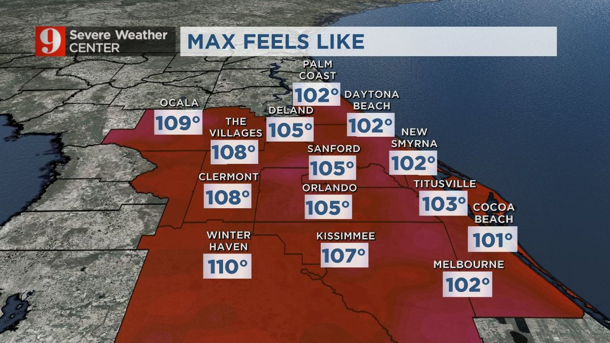 Extreme heat sticking around through the weekend