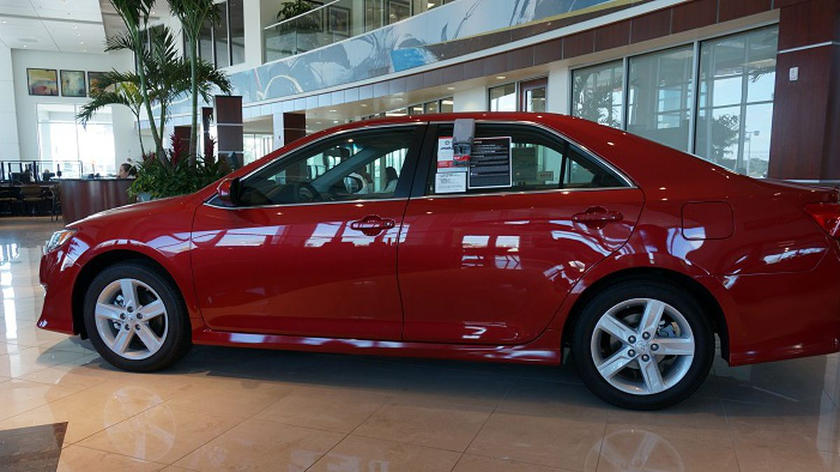 Orlando Toyota Camry Sweeps Past Competitors In 2012 Mid Size Sales