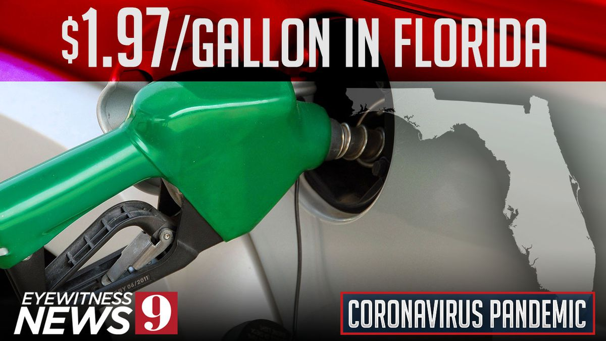 Gas averages less than $2 a gallon in Florida and could decrease more, AAA says