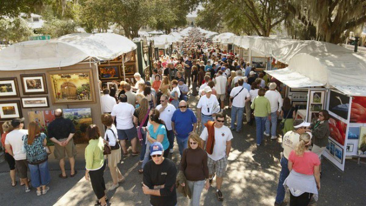 Hundreds of artists fill Mount Dora during annual Arts Festival