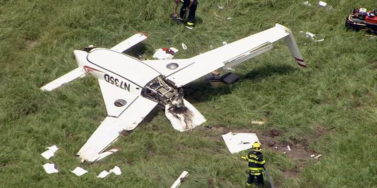 Small plane crashes in St. Cloud, officials say