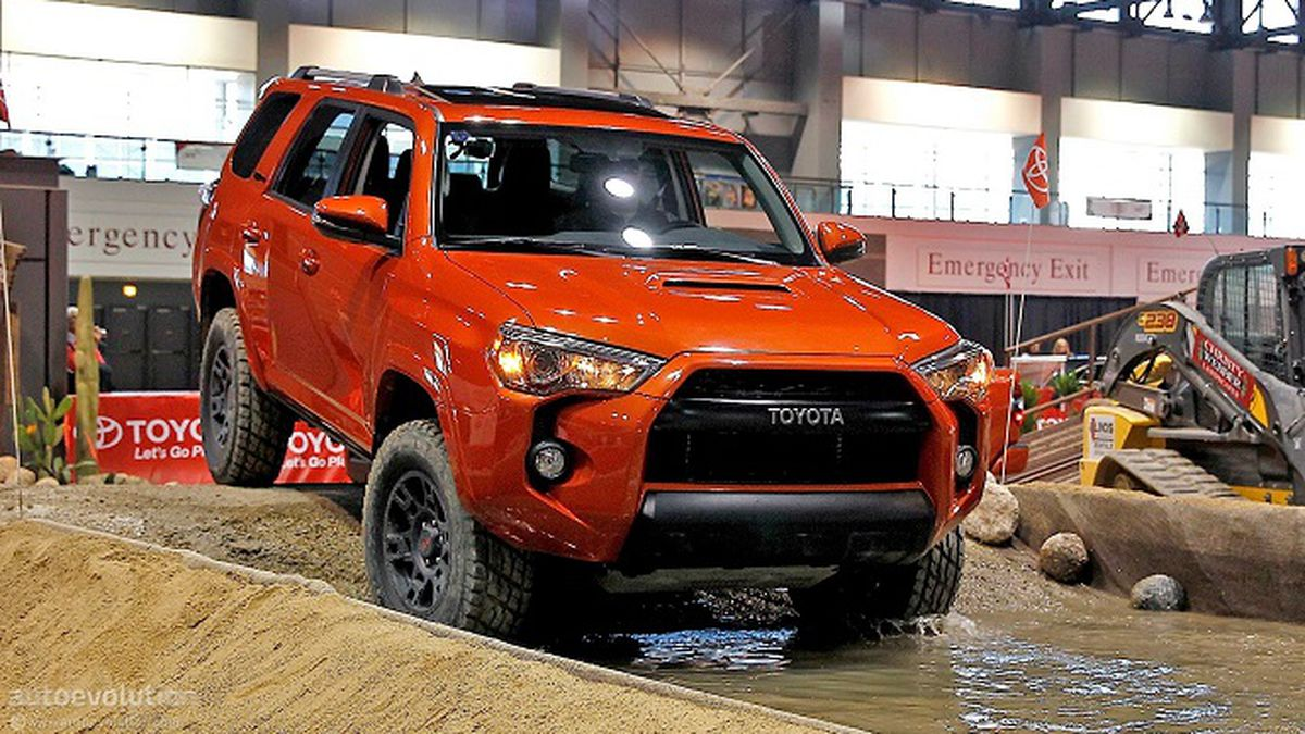2015 Toyota 4runner Introduces New Trd Pro Series