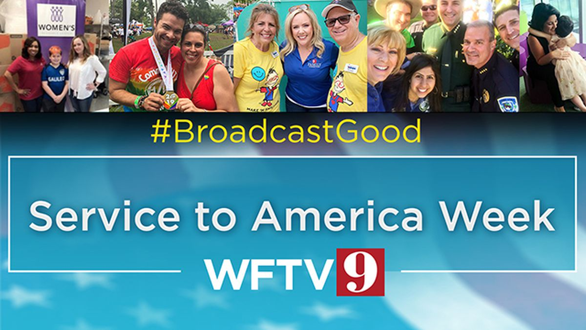 Service to America Week: Channel 9 makes a positive difference in Central Florida