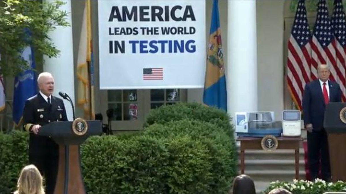 U.S. sets record high mark for new Coronavirus cases
