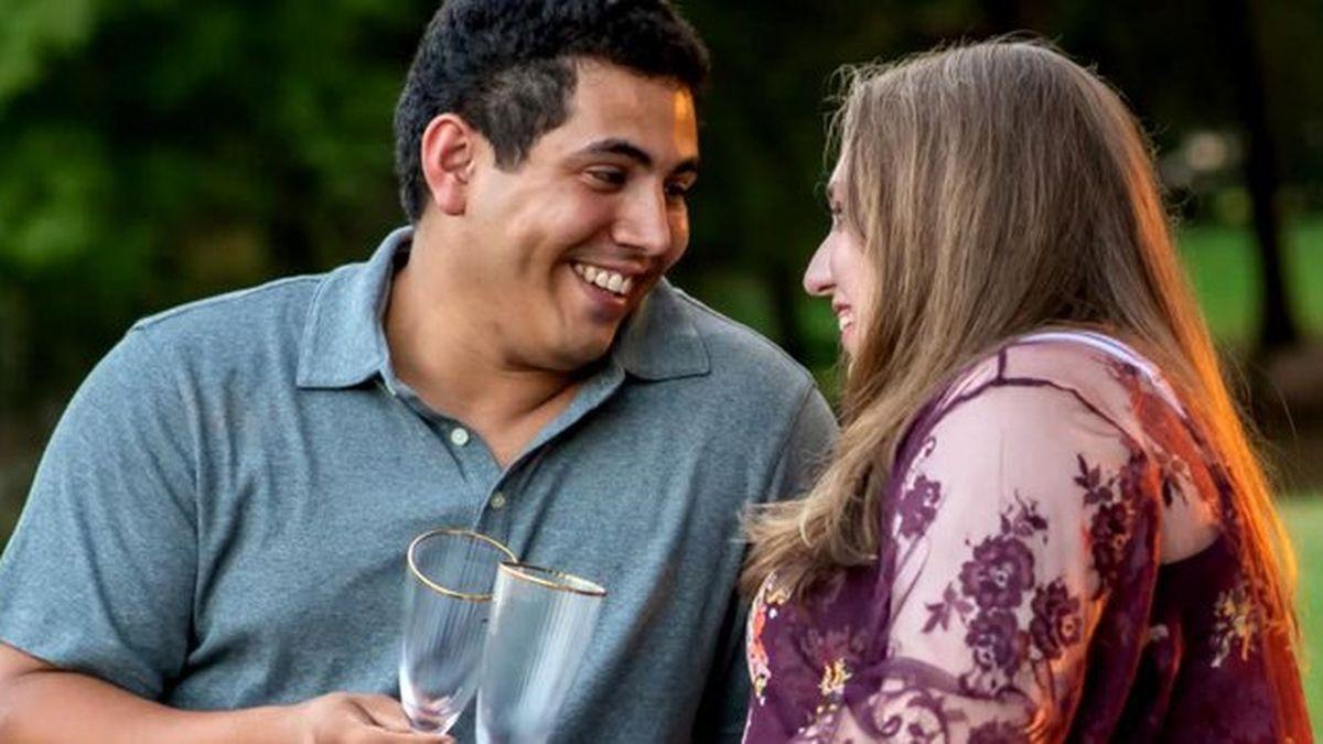 Coronavirus: North Carolina couple gets married via Skype and Facebook Live
