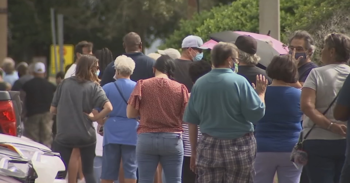 Early voting surges across battlegrounds, Florida on pace to pass 70% before election day