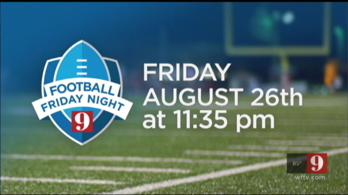 Football friday Night on 9 Starts this Friday!