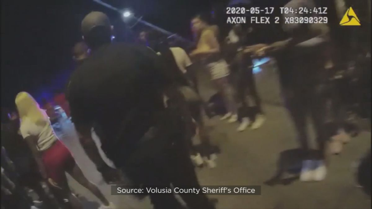 Authorities break up block party involving thousands in Volusia County, Sheriff's Office says