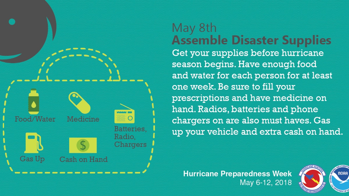 Hurricane season: must-haves for disaster kit ahead of storm threat