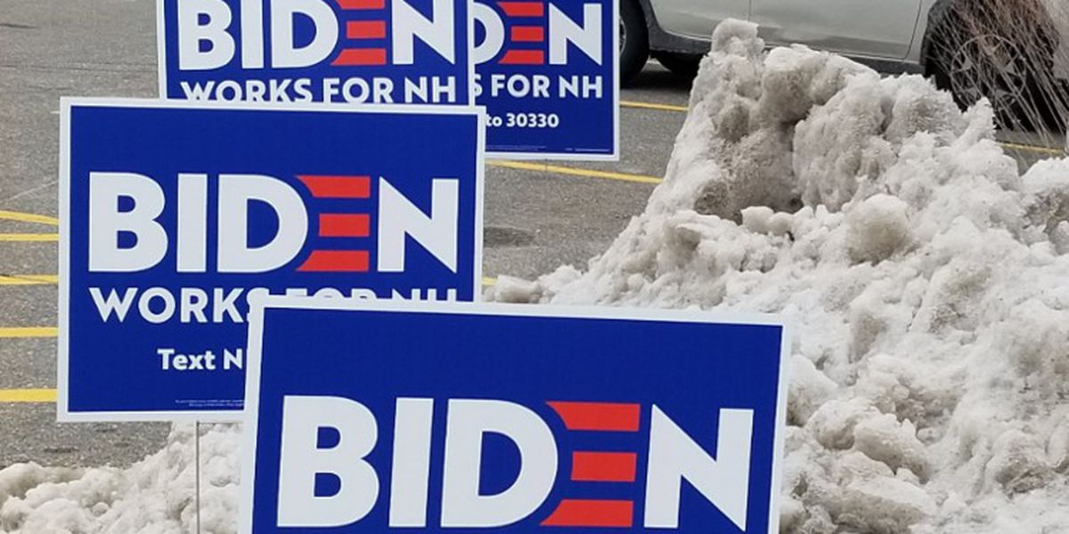 With outlook grim in New Hampshire, Biden heads South today