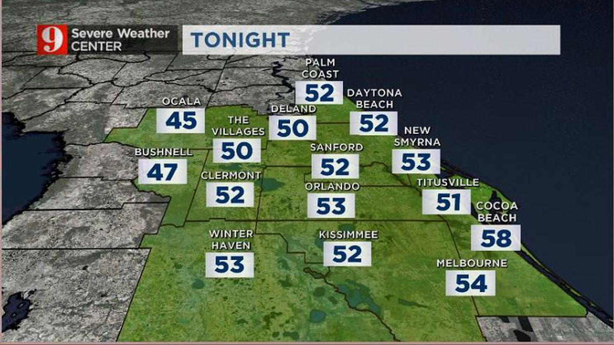 Cool night, warm weather for Thanksgiving preps