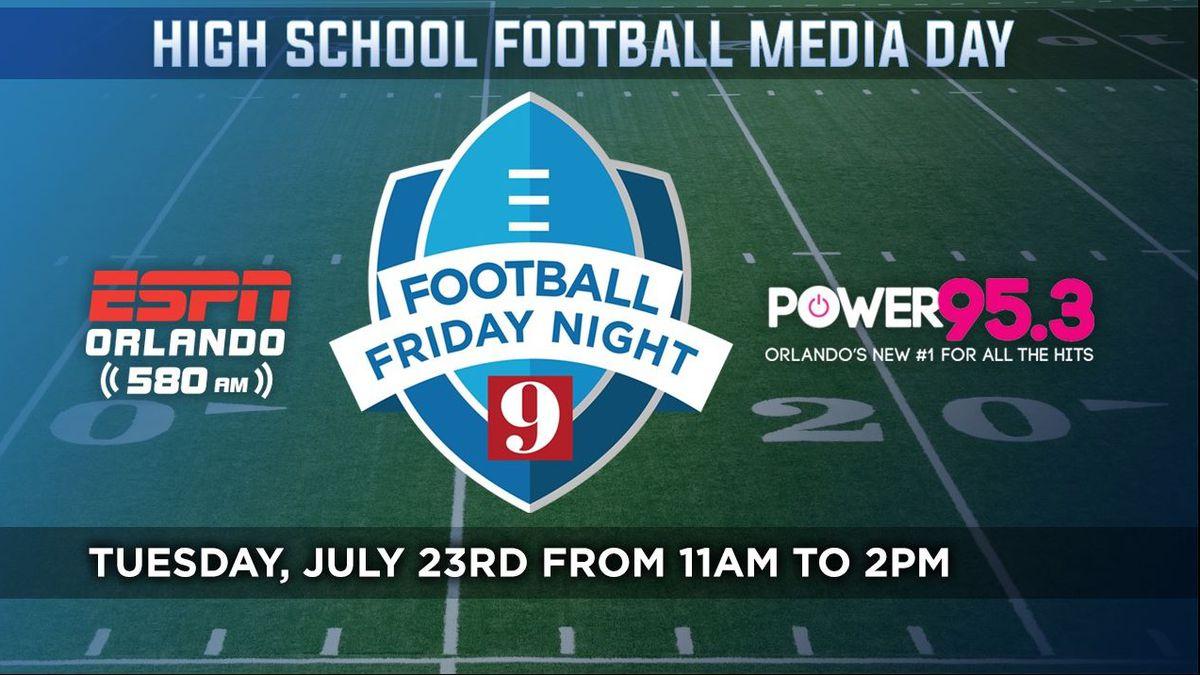 High School Football Media Day