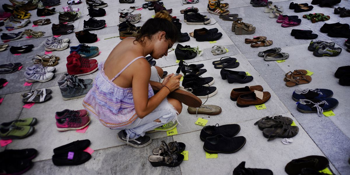 Puerto Rico's empty shoes: Public demands transparency in Hurricane Maria death toll