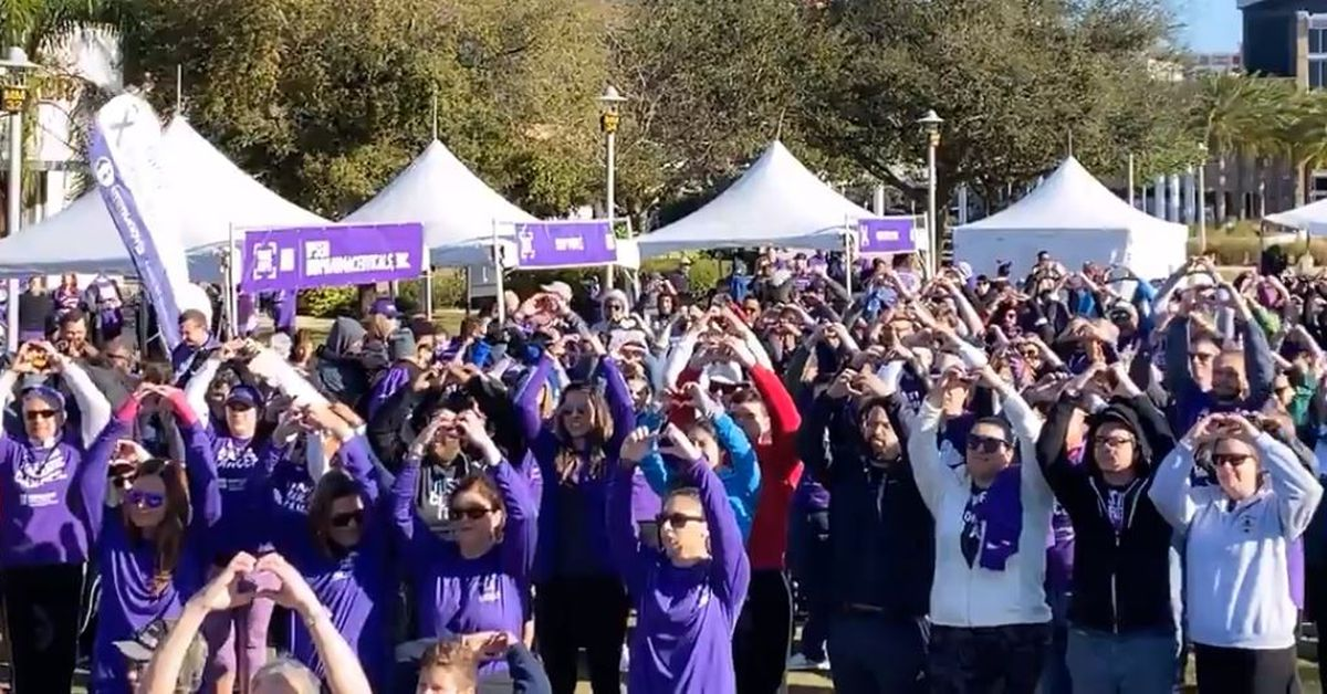 13th annual PurpleStride Central Florida raises more than $120K for pancreatic cancer awareness