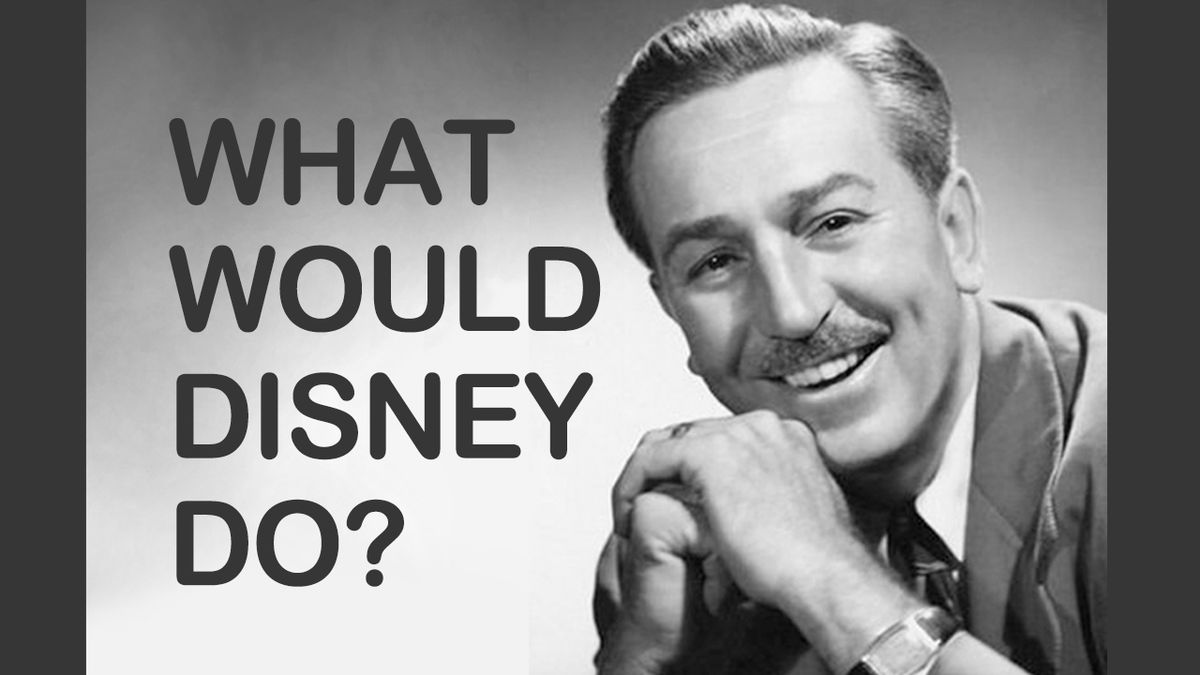 What would Walt do? A letter of hope to furloughed Disney cast members