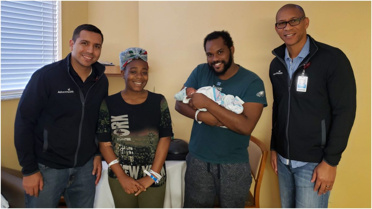 Baby born during Hurricane Dorian named after storm