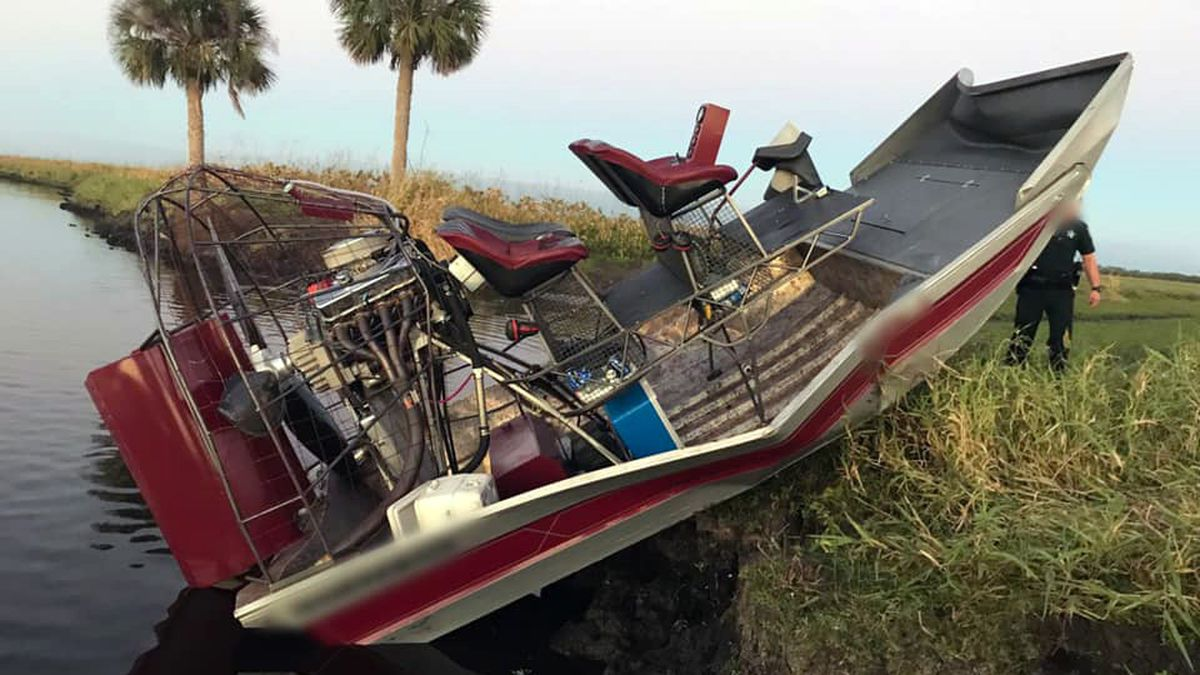 Firefighters: 3 injured in airboat crash on St. Johns River