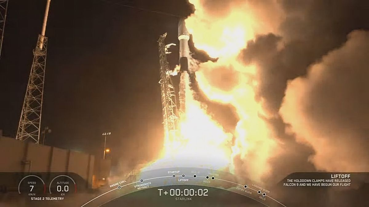 SpaceX successfully launches Starlink satellites from Space Coast