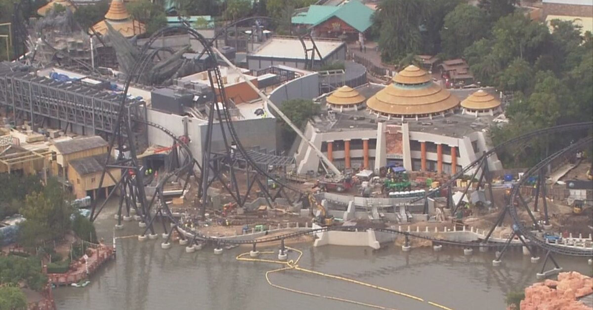 Construction ramps up on new attractions at Central Florida's major theme parks