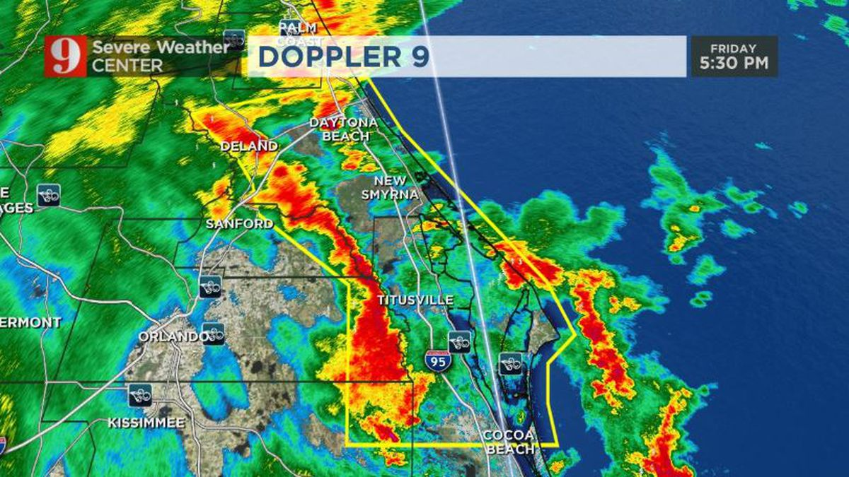 Strong storms leave behind widespread showers