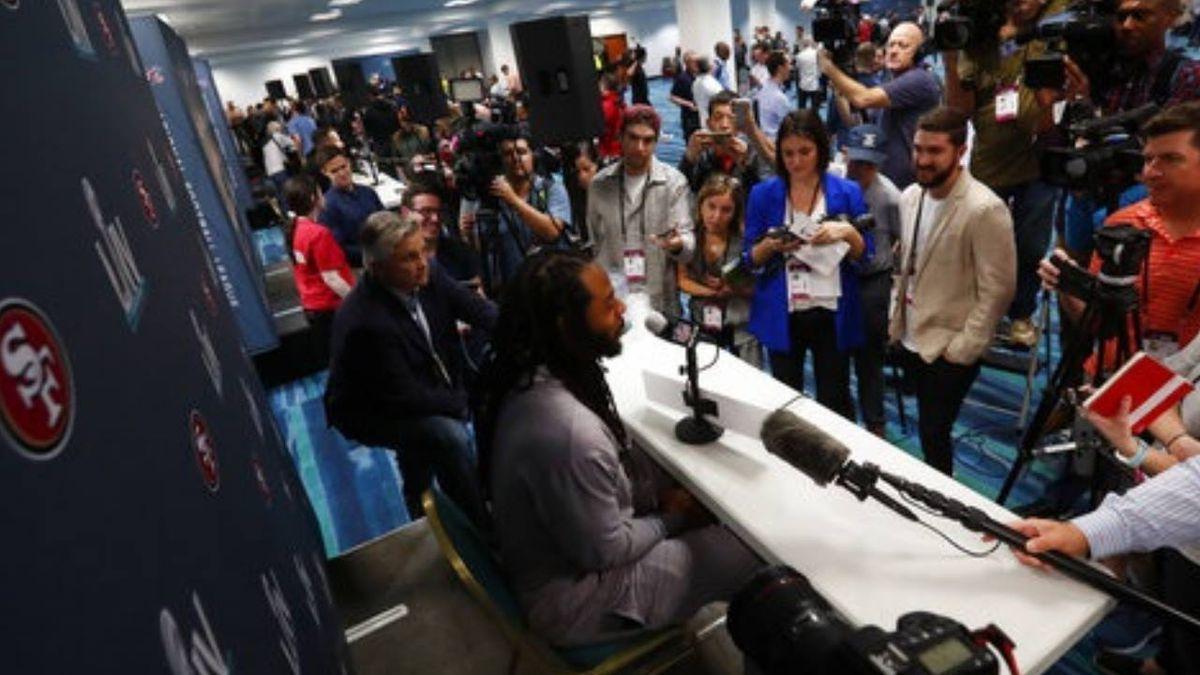 Super Bowl 2020: Media night frivolity tempered by memories of Kobe Bryant