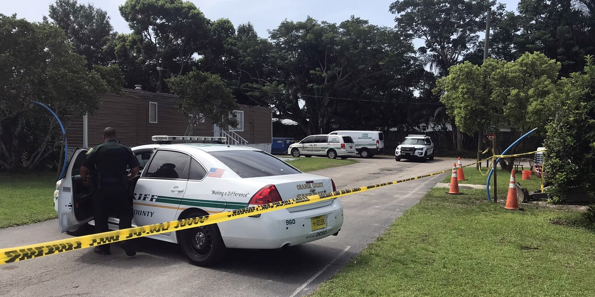 Shooting at Orange County mobile home park leaves 1 man dead, another injured
