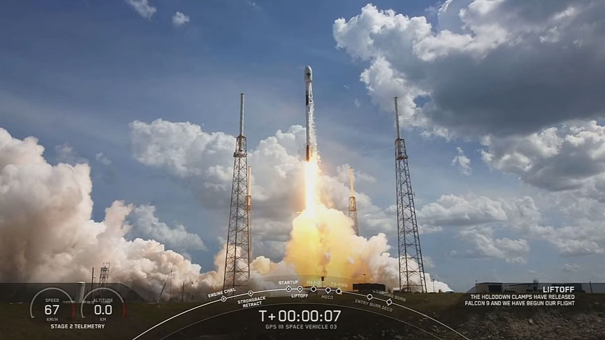 WATCH: SpaceX successfully launches GPS satellite from Cape Canaveral