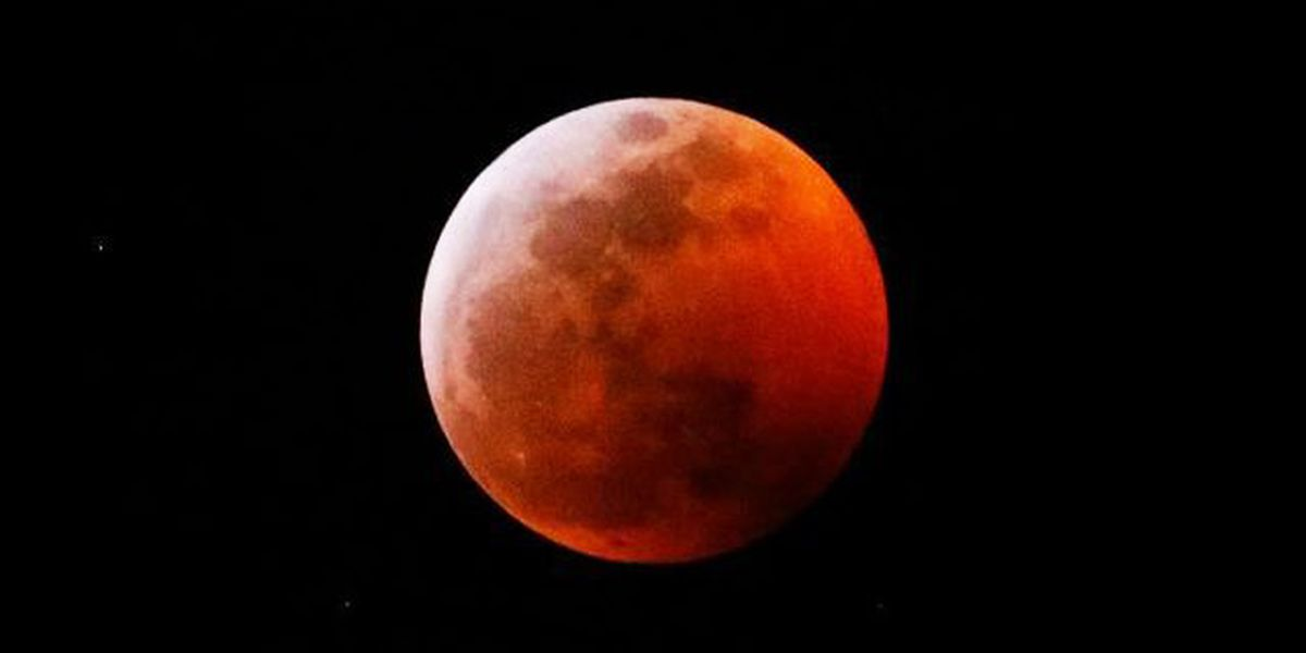 Total lunar eclipse: Stunning blood moon, supermoon added red glow to night sky