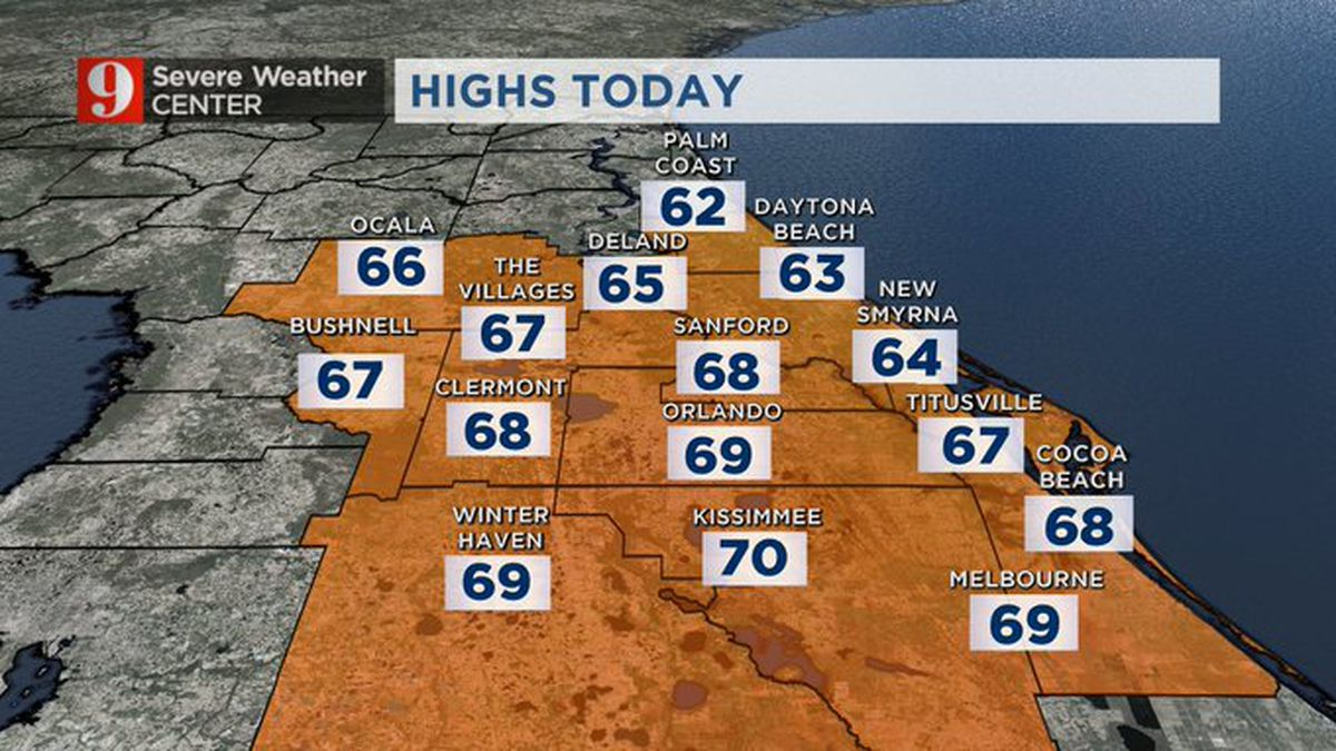 Cool Wednesday; warmth, humidity return soon, for long