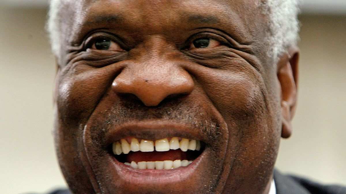 Justice Clarence Thomas to make history as first black person to swear in a vice president