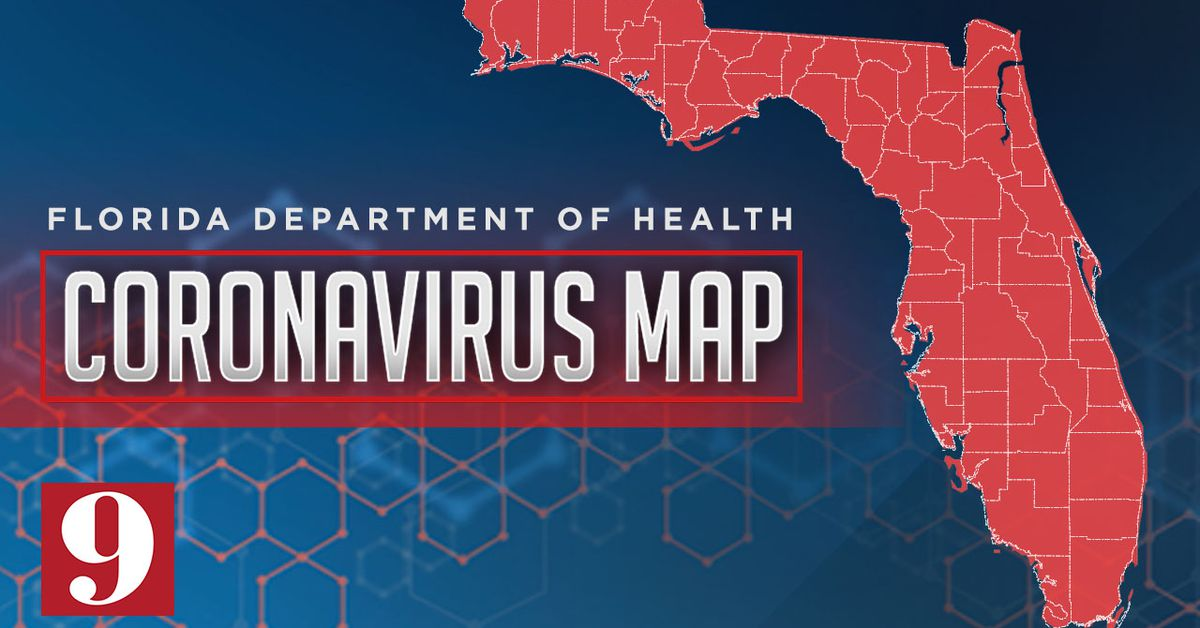Picture of: Interactive Map Coronavirus Cases In Florida