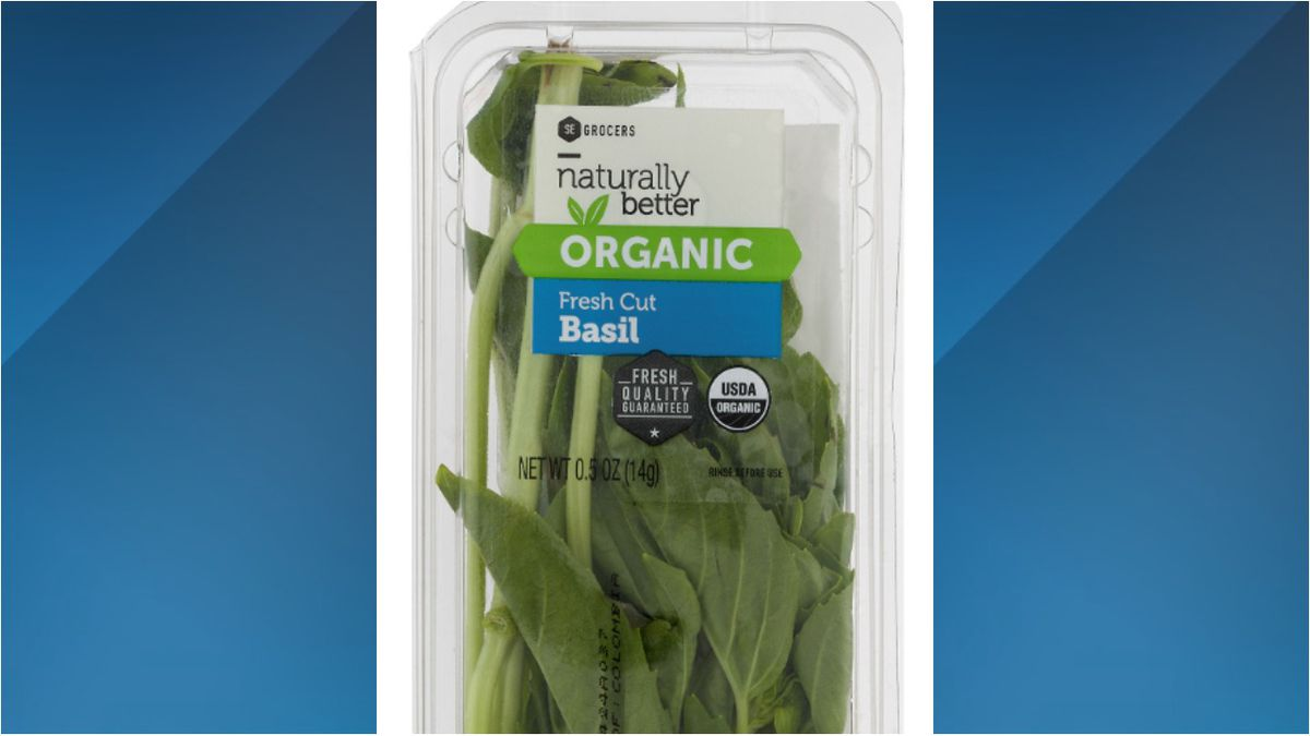 Recall alert: Southeastern grocery stores issue voluntary recall on 'Organic Fresh Cut Basil'