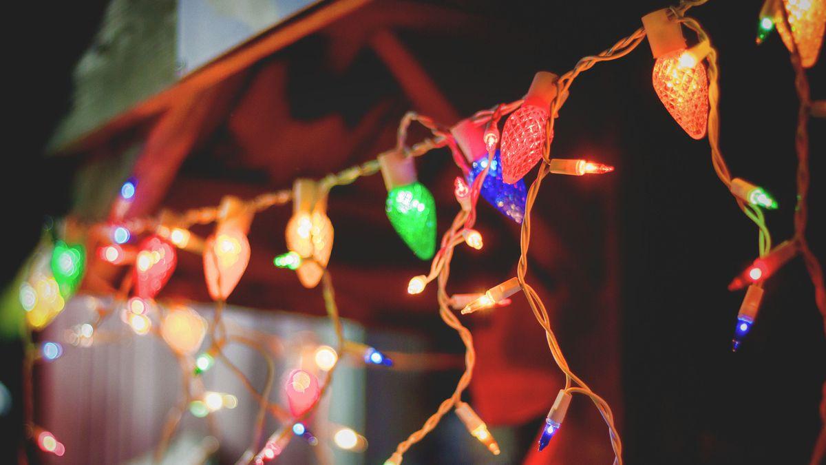 Coronavirus: People string up Christmas lights to brighten dark times of COVID-19 pandemic