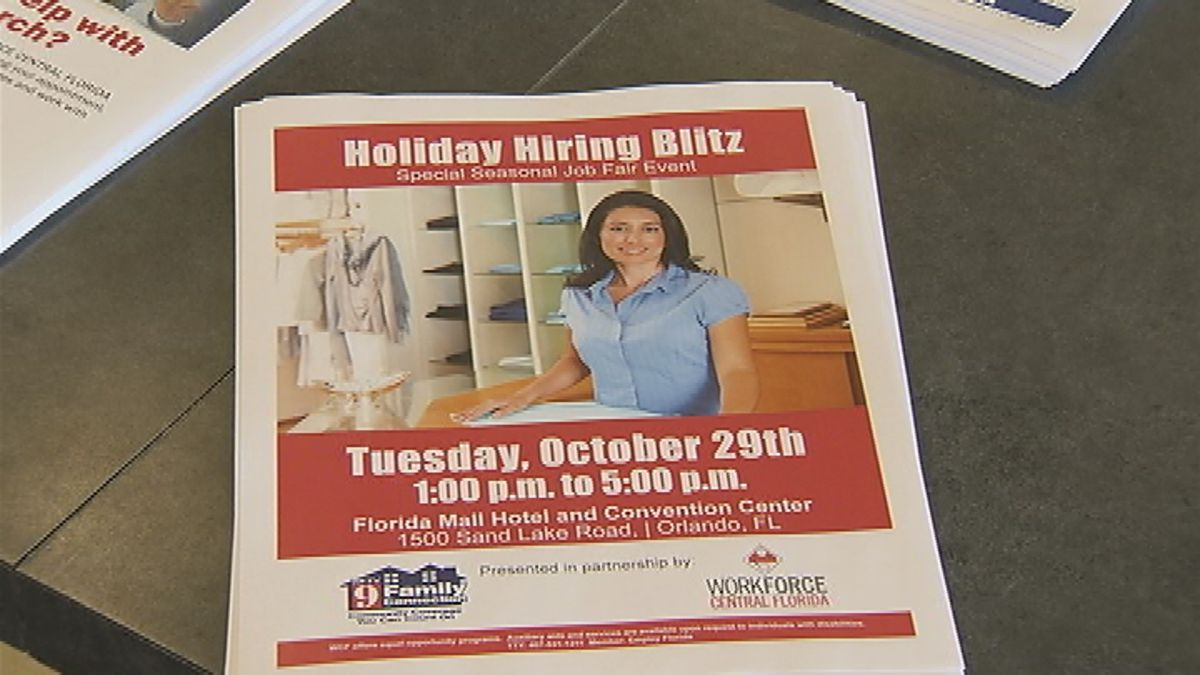 Central Fla. stores hiring up to 1,000 seasonal positions