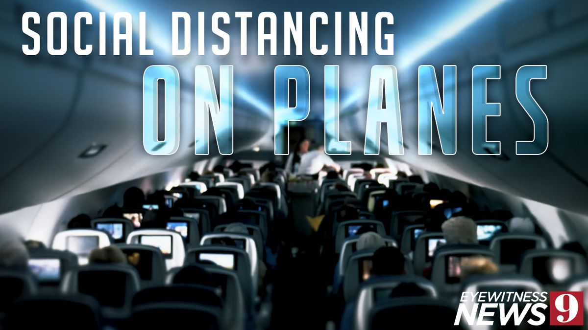 Thinking about flying? Action 9 found out what you need to know about social distancing