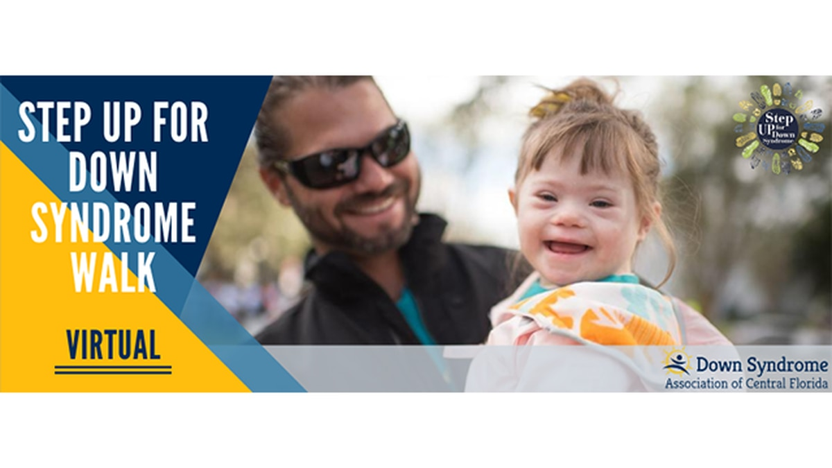 STEP UP FOR DOWN SYNDROME VIRTUAL WALK