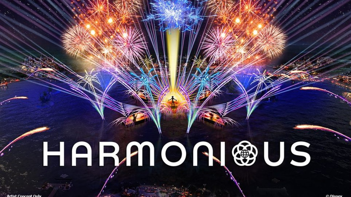 Disney shares early look at 'Harmonious,' Epcot's upcoming nighttime spectacular