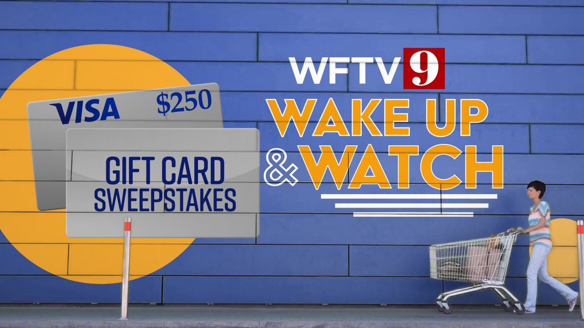 "WFTV ""Visa Gift Card Giveaway"" Contest"