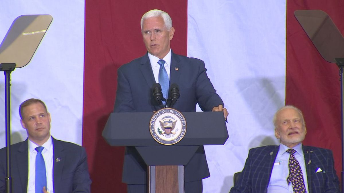 Vice President Mike Pence plans to visit Orlando to discuss Florida's phased economic reopening