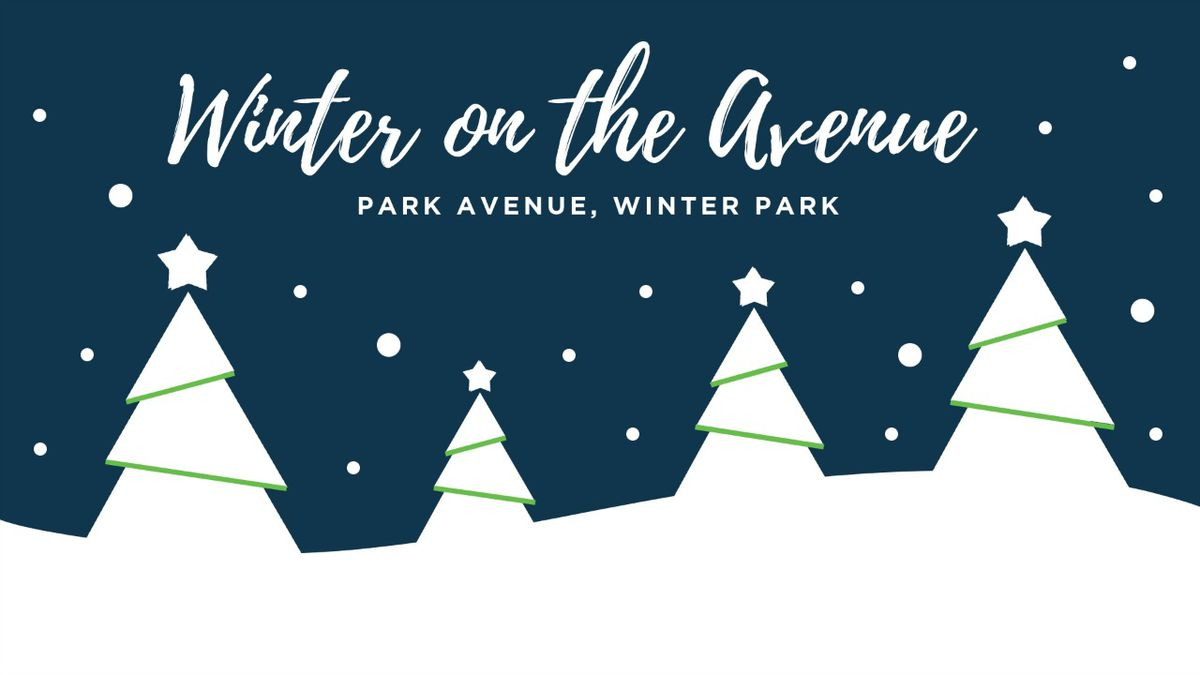 Kick off the holiday season in Winter Park with Winter on the Avenue